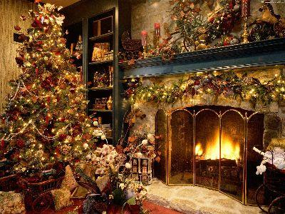 view the Image Christmas Cozy Scene