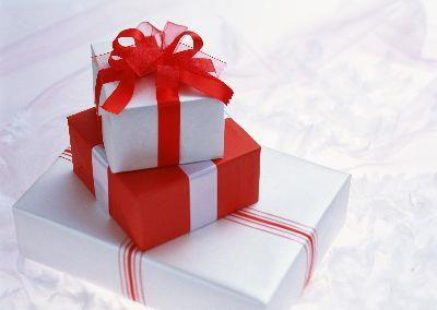 view the Image Christmas Gifts Red White