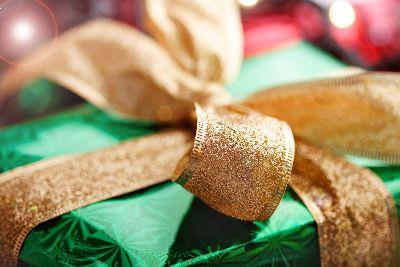 view the Image Christmas Gift Gold