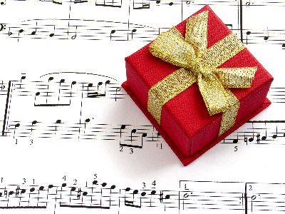 Image on Christmas Gift Music