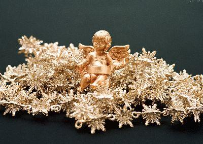 view the Image Christmas Gold Angel