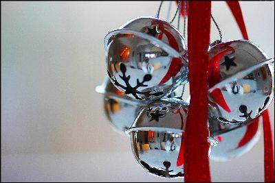 Image on Christmas Silver Bells
