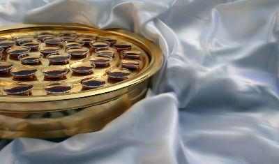 view the Image Communion White Satin