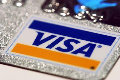Image on Credit Card Visa