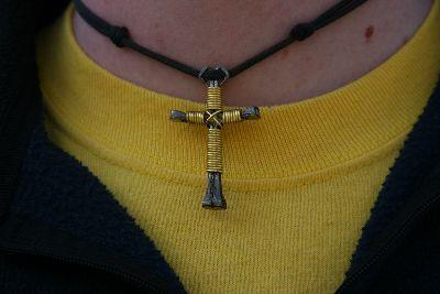 view the Image Cross Necklace