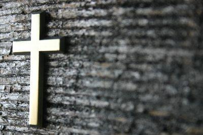 Image on Cross On Wood 2