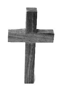 Image on Cross Wooden