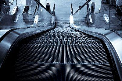 Image on Escalator