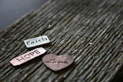 Image on Faith Hope Love