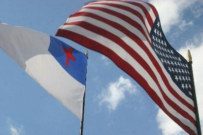 view the Image Flags Us Christian Close