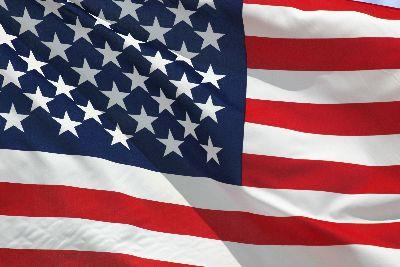 Image on United States Of America Flag Background