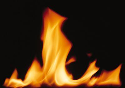 Image on Flame Single