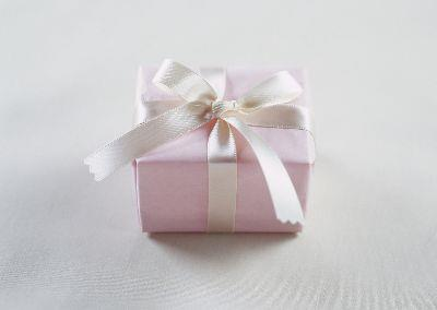 Image on Gift - Pink And White