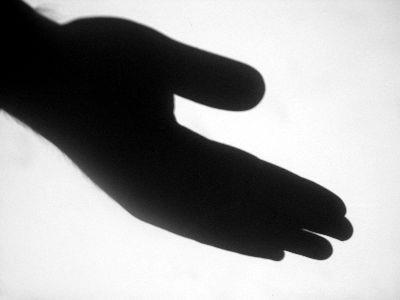 Image on Hand Shadow