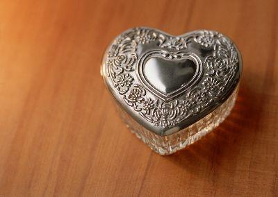 Image on Heart Box