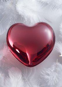 Image on Heart Pink