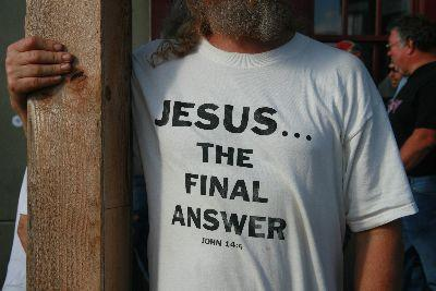 Jesus Final Answer Image