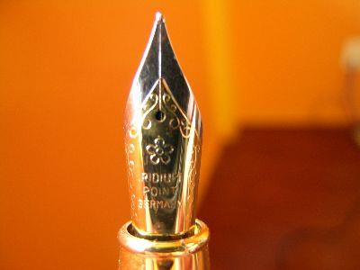 Image on Pen Nib