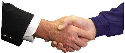 view the Image Shake Hands