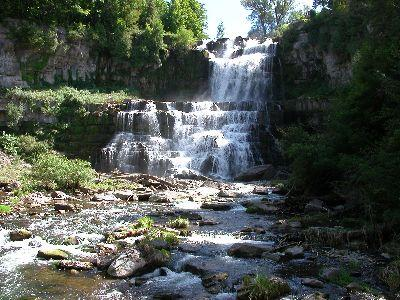 view the Image Spring Waterfall