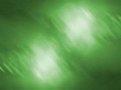 Motion Background on Two Lights - Green