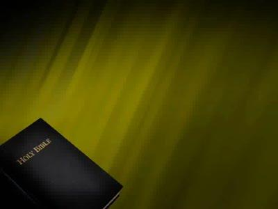 Motion Background on Bible - Dark Yellow