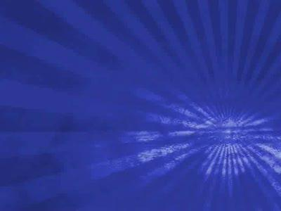 Motion Background on Dusty Rays - Blue