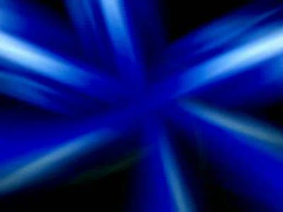 Motion Background on Streaks - Blue