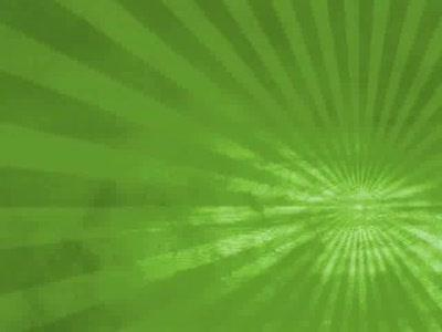 Motion Background on Dusty Rays - Green