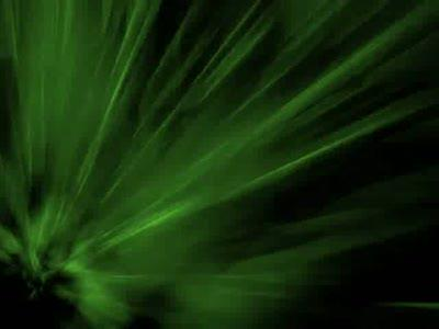 Motion Background on Flash - Green