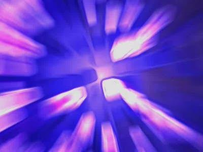 Motion Background on Vortex - Purple