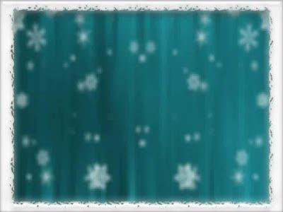 view the Motion Background Bordered Snowfall - Teal