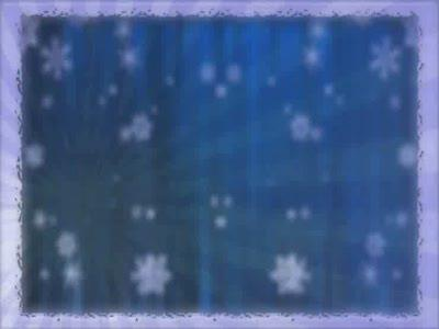 Motion Background on Bordered Snow Rays - Blue