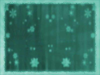 media Bordered Snow Rays - Teal