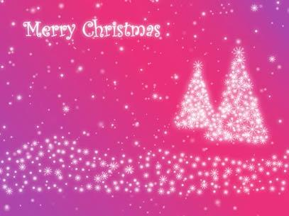 view the Motion Background Christmas Tree Particles - Lilac