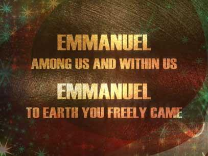 Worship Music Video on You Are Emmanuel