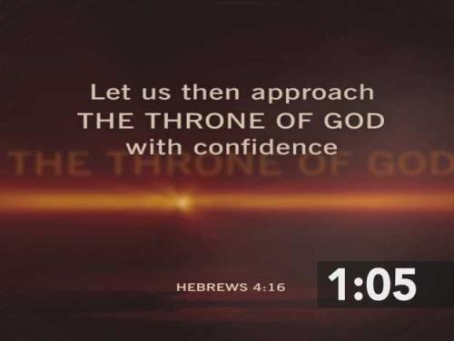 view the Countdown Video Before The Throne Of God Above
