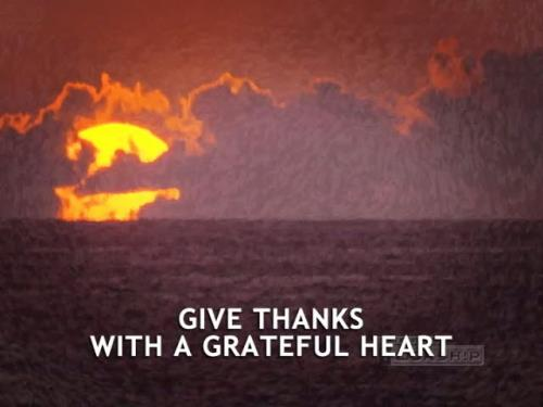 Worship Music Video on Give Thanks