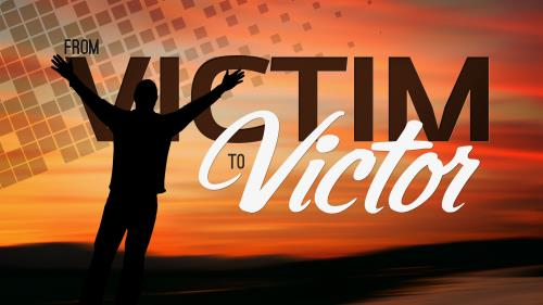 PowerPoint Template on From Victim To Victor