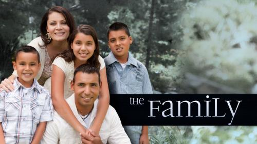PowerPoint Template on The Family