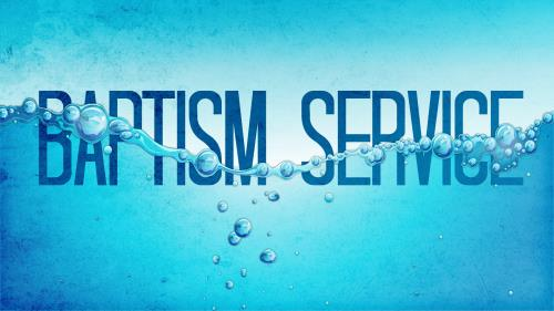 PowerPoint Template on Baptism Service 6