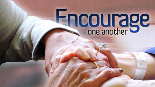 PowerPoint Template on Encourage One Another
