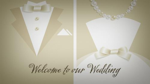PowerPoint Template on Wedding Welcome 2