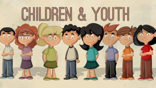 PowerPoint Template on Children And Youth 2