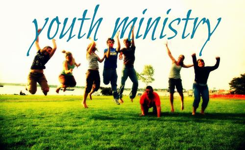 PowerPoint Template on Youth Ministry Teens
