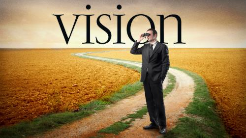 PowerPoint Template on Vision Leadership