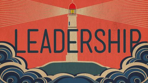 PowerPoint Template on Leadership Lighthouse