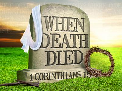 PowerPoint Template on When Death Died