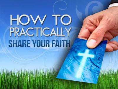 PowerPoint Template on Share Your Faith