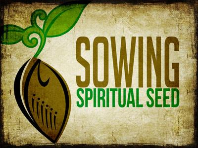 PowerPoint Template on Sowing Spiritual Seed